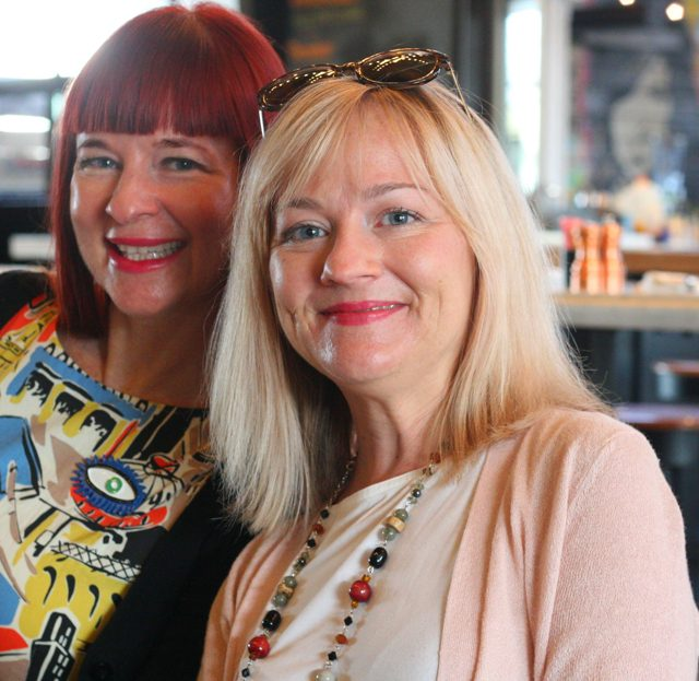 sherry dryja suzanne carillo bloggers