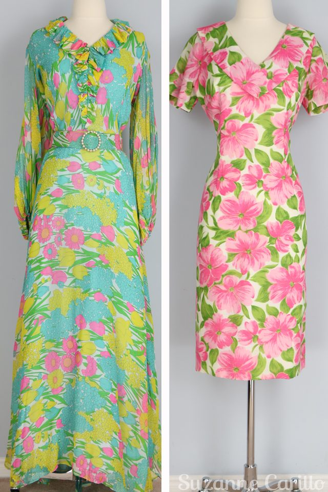 spring vintage dresses for sale vintagebysuzanne on etsy 1970s vintage fashion for spring