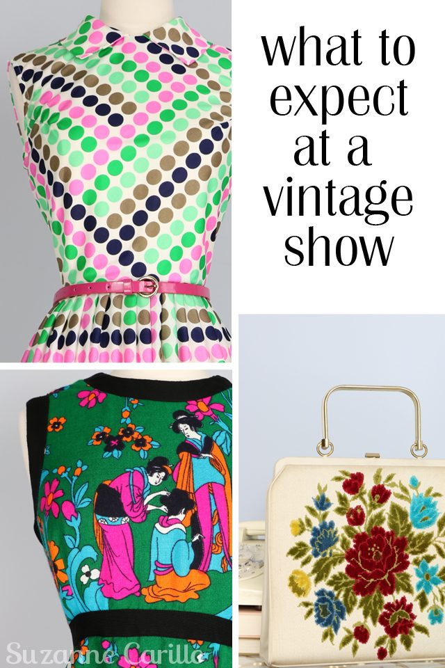what to expect at a vintage show