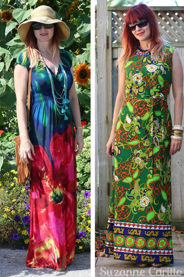 how to dress comfortably wear a maxi dress suzanne carillo