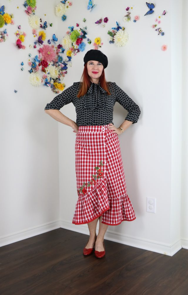 gingham for summer ideas how to wear gingham over 40