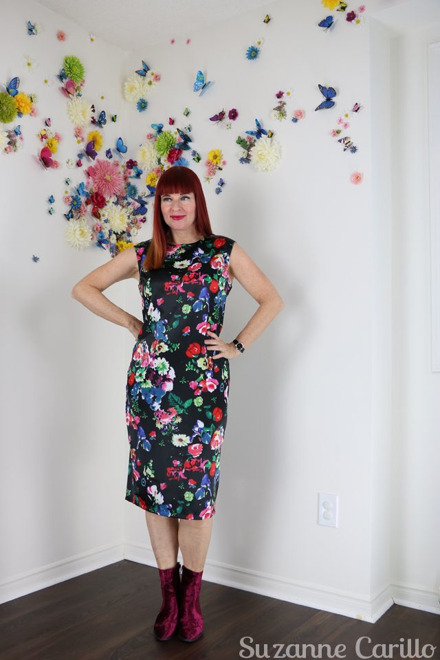how to wear florals over 40