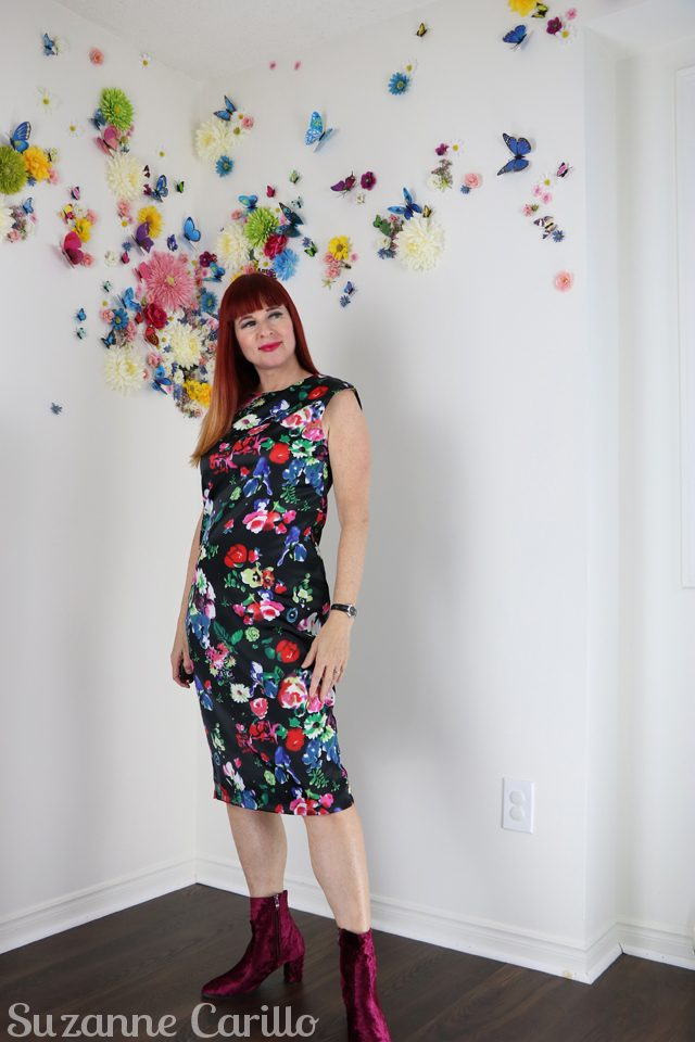 how to wear florals over 50 suzanne carillo