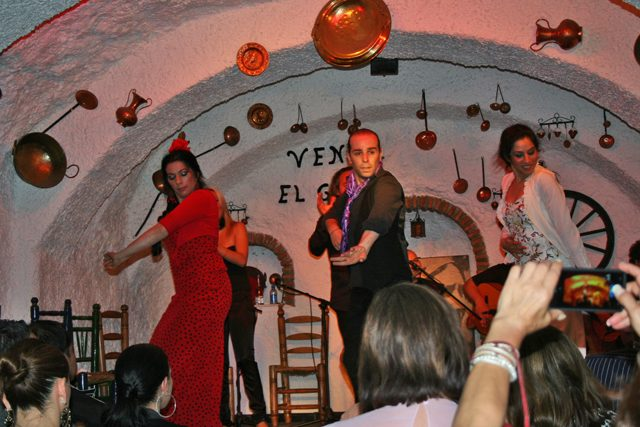 flamenco dancers spain
