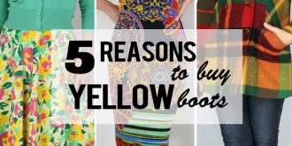 Five Reasons To Buy Neon Yellow Boots