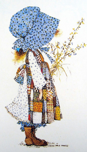 holly hobbie illustration small