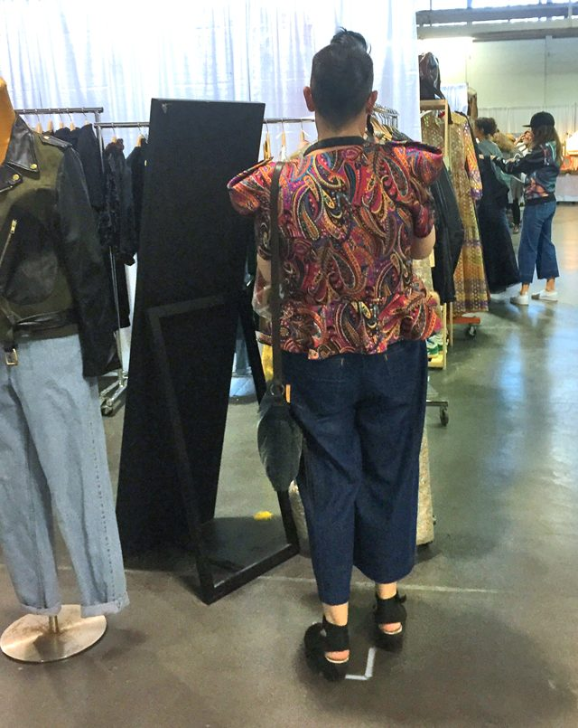 shelley forest city fashionista toronto vintage clothing show fall 2017