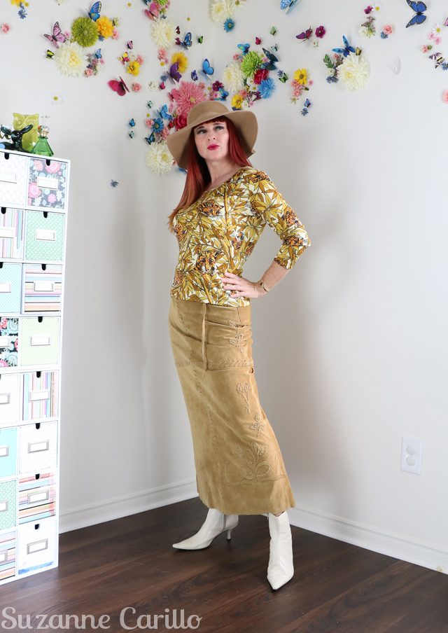 how to wear thrifted clothing over 50 suzanne carillo