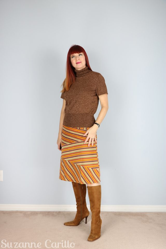 for sale vintage striped skirt corduroy for sale