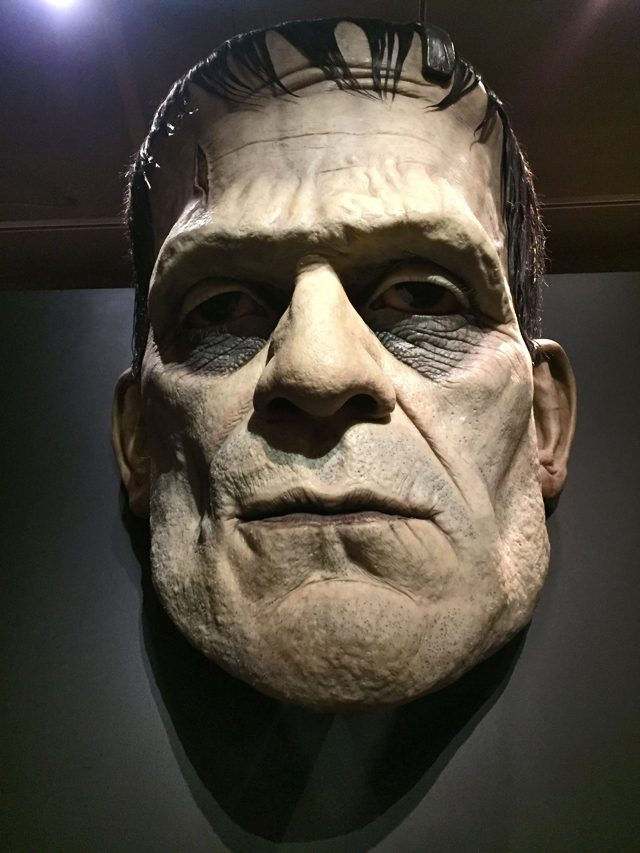 frankenstein monster del toro exhibit toronto