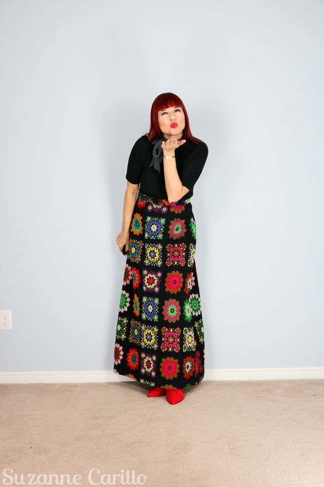 in praise of the vintage skirt suzanne carillo