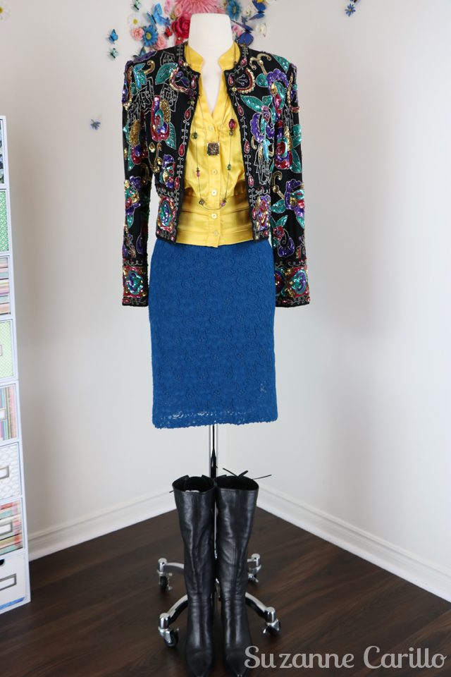 style a sequinned jacket 10 ways sm