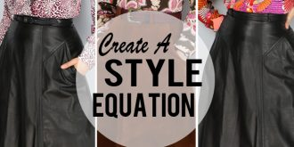 Create A Style Equation From Pieces In Your Closet