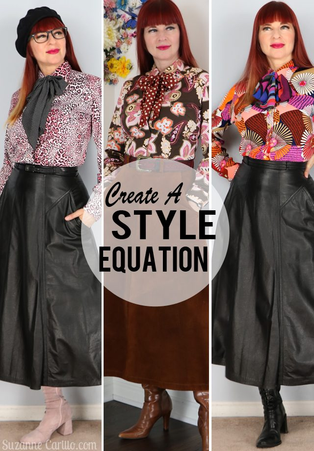 create a style equation suzanne carillo style