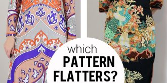When Patterns Don't Flatter – Which Dress Did I Keep?