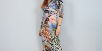 Wearable Art Maxi Dress – Comfort And Style