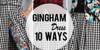 10 Gingham Dress Style Ideas