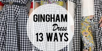 13 Ways To Style A Gingham Dress