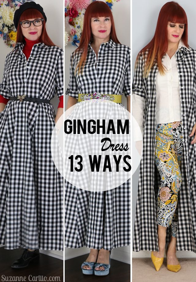 13 ways to style a gingham dress that aren't boring