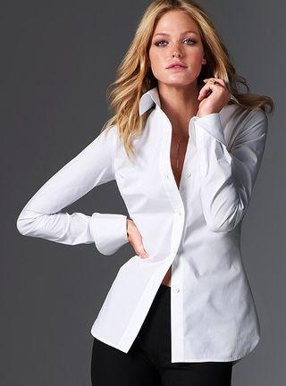 French Cuff Shirts Womens