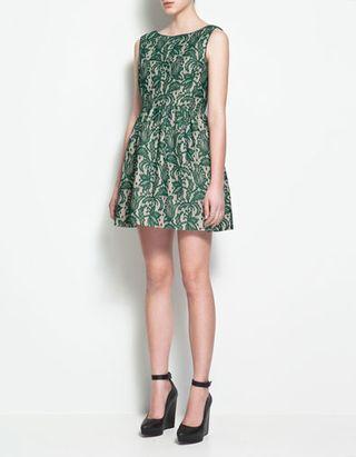 Zara_green_dress