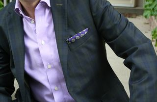 Purple puff