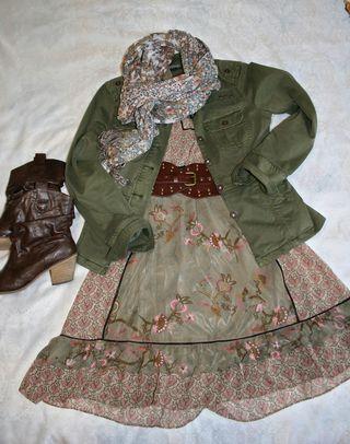 Moss_peach_dress_belt