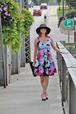 Bridge flower dress