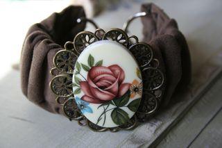Floral cuff