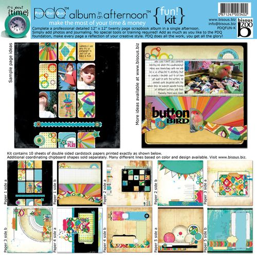 Fun scrapbooking kit
