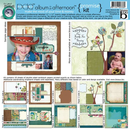 Promise scrapbooking kit