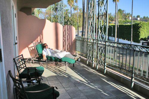 Beverly hills hotel balconey small