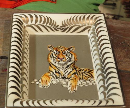 Finished tiger plate hermes