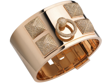 Hermes diamond cuff
