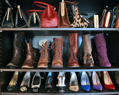 Boots and purses