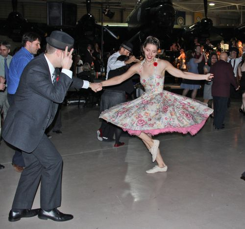 Fancy skirt swing dancing
