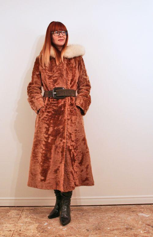 Long vintage coat