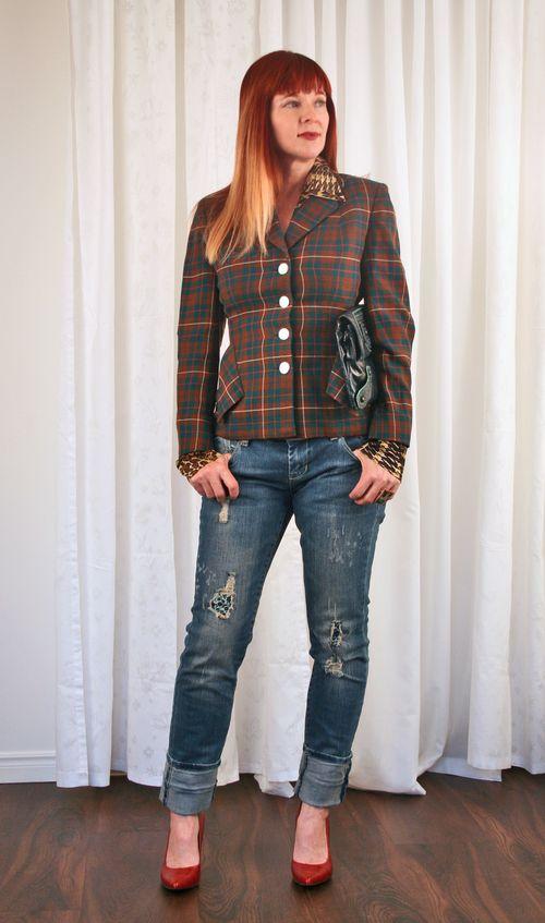 Making vintage clothes modern
