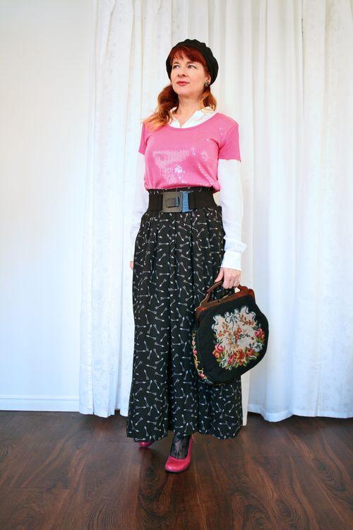 French style dressing suzanne carillo vintage handbag
