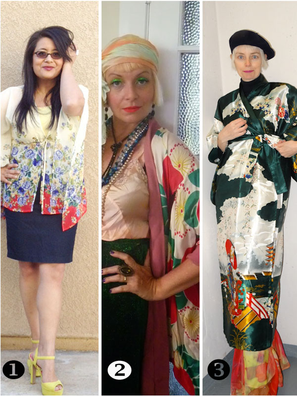 How to wear a kimono over 40