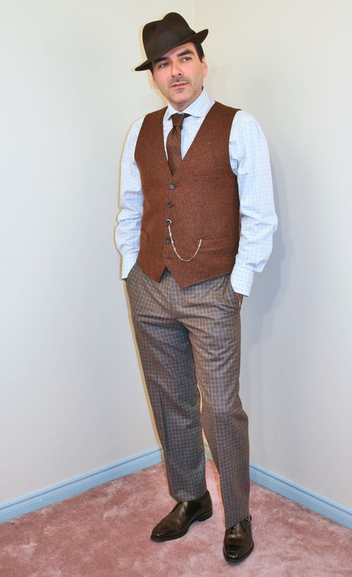 Men's fashion 1920's style