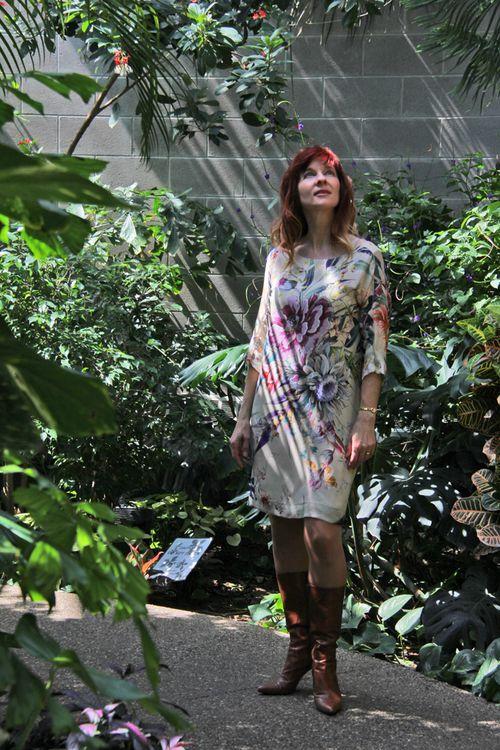 Zara floral dress suzanne carillo