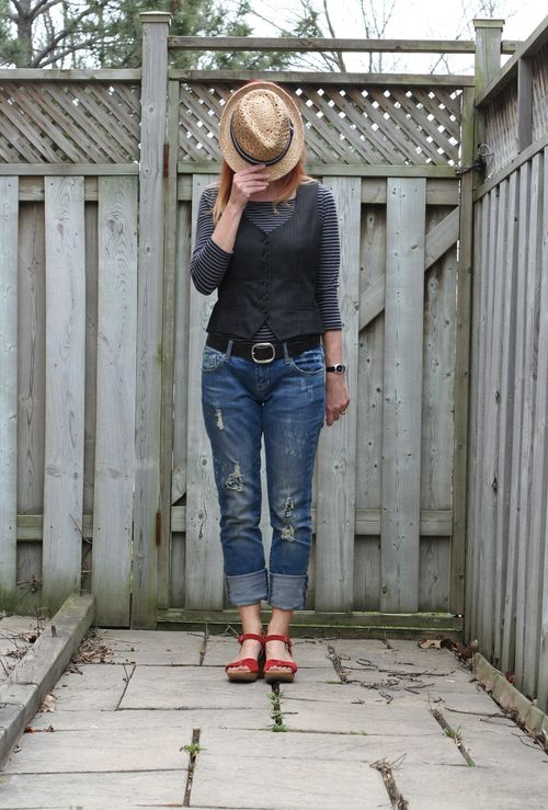 Menswear inspired style for women