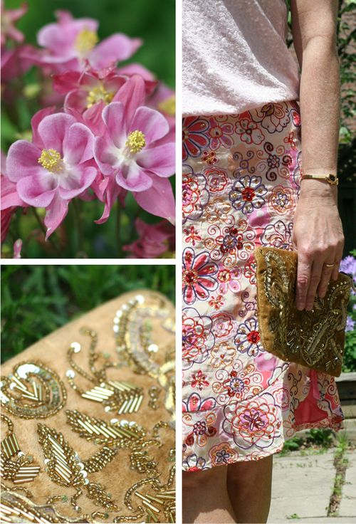 How to wear pink and gold in the summer over 40 style suzanne carillo style files