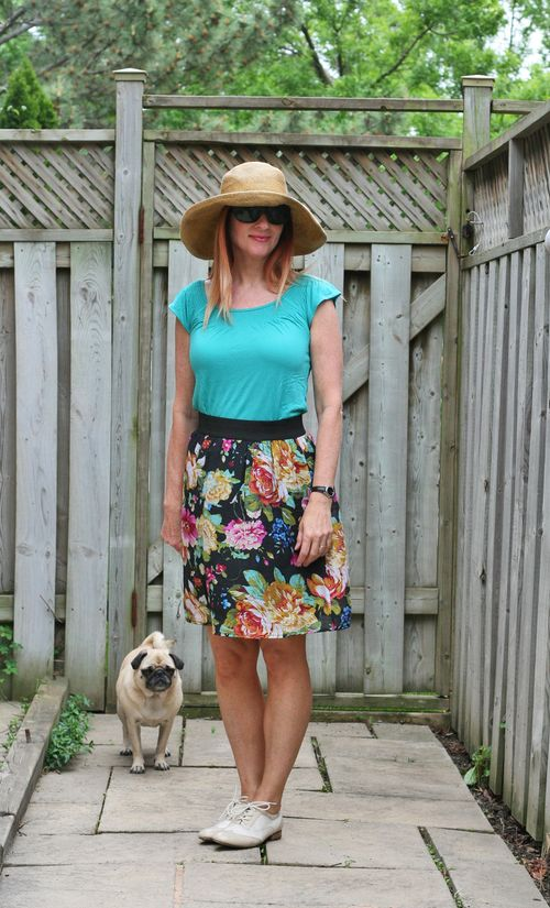 How to wear brogues with a skirt suzanne carillo style files floral skirt pug