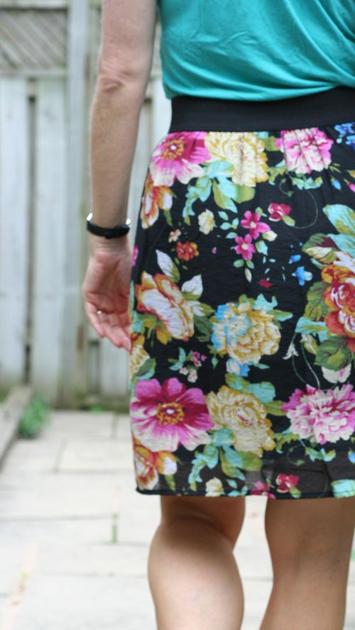 Francesca's floral skirt suzanne carillo style files