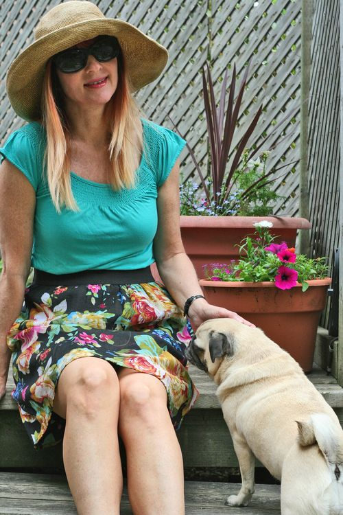 A gal and her pug suzanne carillo style files summer dressing made easy