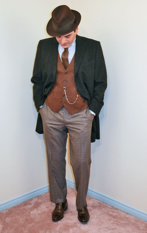 Men's vintage fashion