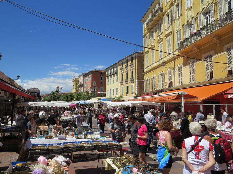 Flea market nice france