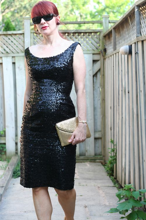 Vintage 1950's sequin wiggle dress suzanne carillo style files